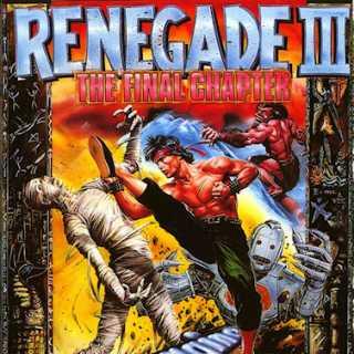Renegade III C64 boxart