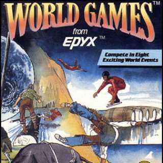 World Games C64 box art