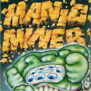 Manic Miner CPC box art