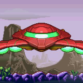 Metroid Zero Mission Gunship