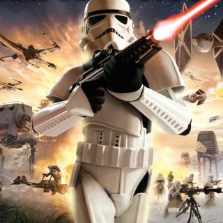 Image Representing the Galactic Civil War