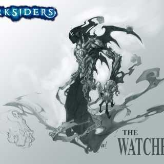 Concept art of The Watcher.