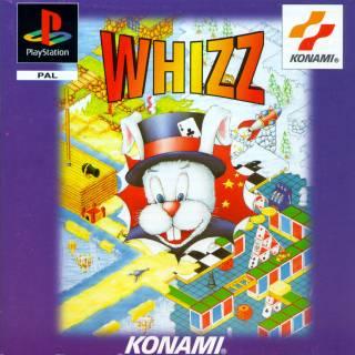 Whizz - UK Playstation Box Art