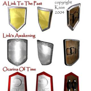 An overview of the various Mirror Shields in the Zelda Franchise.