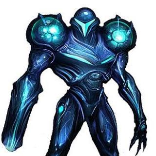 Dark Samus As she appeared in her Debut in Metroid Prime 2.