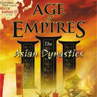 Age of Empires III: The Asian Dynasties (Box Art)