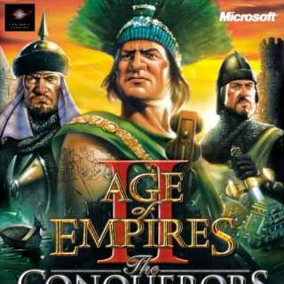 Age of Empires II: The Conquerors (Box Art)