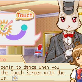 Tony Rabbit is your dance teacher in Princess Debut.