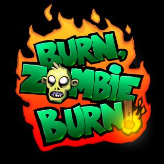 Burn Zombie Burn! ~ Black Logo