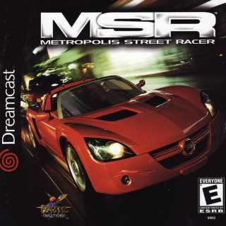 Metropolis Street Racer (Front Cover)