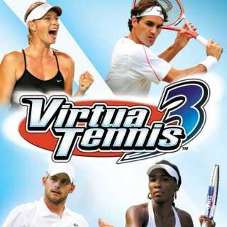 Virtua Tennis 3 (Box Art)