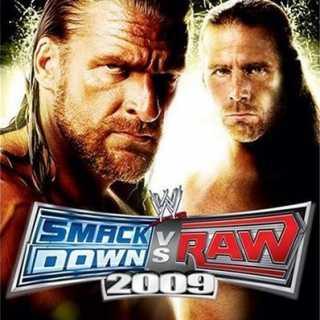WWE SmackDown! vs. RAW 2009 non-platform specific cover art