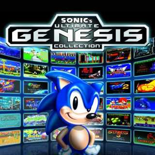 Sonic's Ultimate Genesis Collection non-platform specific cover art
