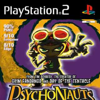 Psychonauts PS2 EU