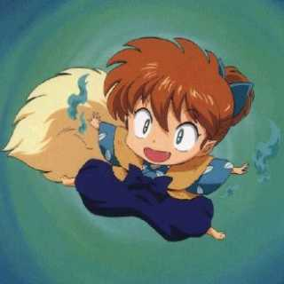 Shippo uses fox magic.