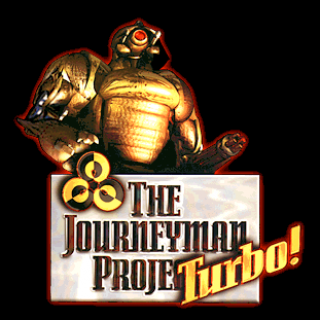 Logo for The Journeyman Project TURBO!