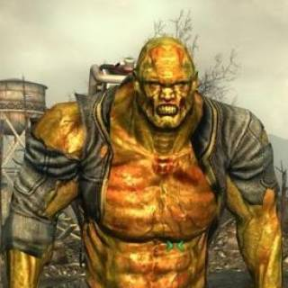 The mutant in this picture is friendly. His name is Fawkes and he can become a follower afther the F