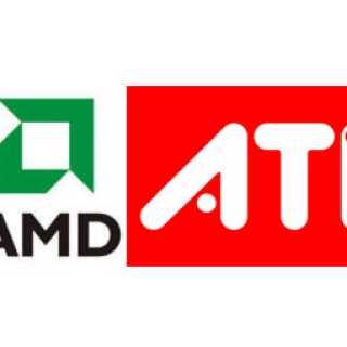 ATI AMD logo