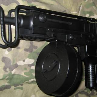 Vz61 with a Drum Mag