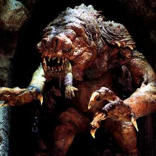 Rancor from Return of the Jedi movie