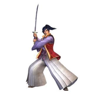 Takamaru as he appears in Samurai Warriors 3.