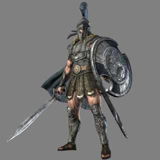 Achilles in Warriors Legends of Troy