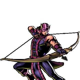 UMvC3 Hawkeye