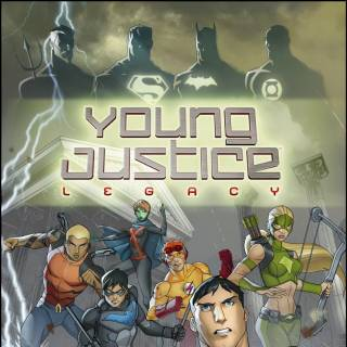 Young Justice Legacy Box Art