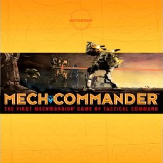 MechCommander Box Art