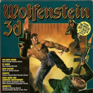 Wolf3D DOS Cover Art
