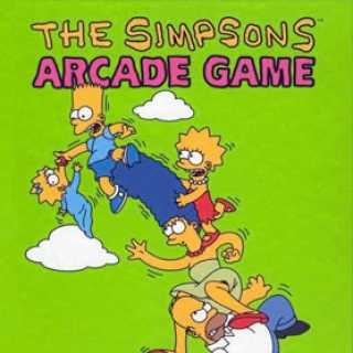 The Simpsons Arcade Game Flier