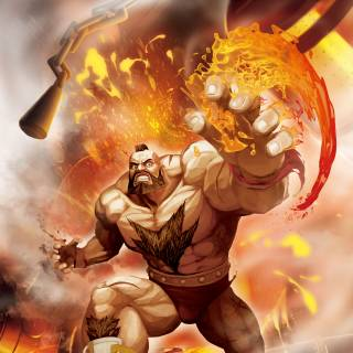Zangief SFxT artwork