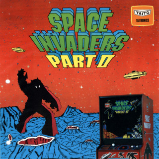 Space Invaders Part II (JP) Flyer