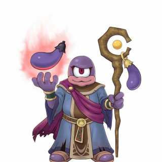 Eggplant Wizard from Kid Icarus: Uprising.