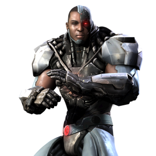 Cyborg Injustice Render
