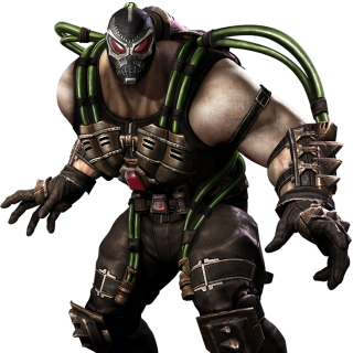 Bane Injustice Render
