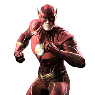 The Flash Injustice Render
