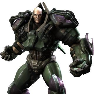 Lex Luthor Injustice Render