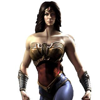 Wonder Woman Injustice Render