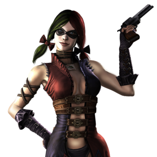 Harley Quinn Injustice Render