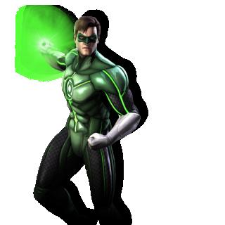 Green Lantern Injustice Render