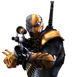 Deathstroke Injustice Render