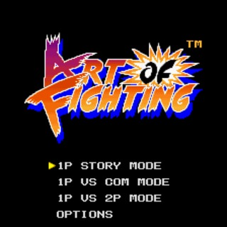 snes art of fighting select screen