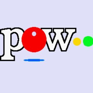 POW logo (Kikuni Masahiko no Jantoushi Dora Ou, SNES, 1993)