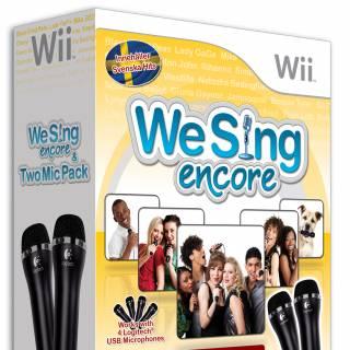 We Sing Encore Box Art