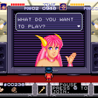 Game Center, hosted by Konami Girl