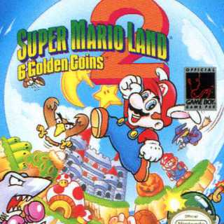 Super Mario Land 2 Cover Art.