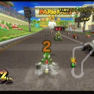 Lakitu in Mario Kart Wii.