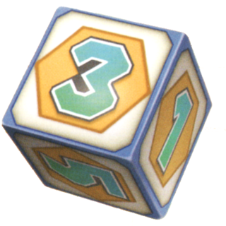The Dice Block from the Mario Party series.