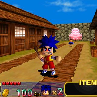 Goemon in Mystical Ninja Starring Goemon
